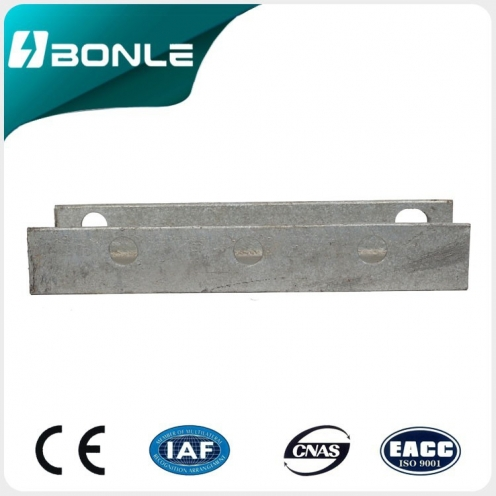 Factory supply  channel steel  U- steel  U-bar  cross arm BONLE
