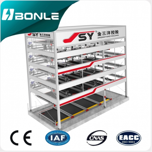 Multilayer Lift Sliding Mechanical Parking System Parking Lift BONLE